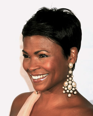 Nia Long and her dark, shiny cap of hair was my goal back in high